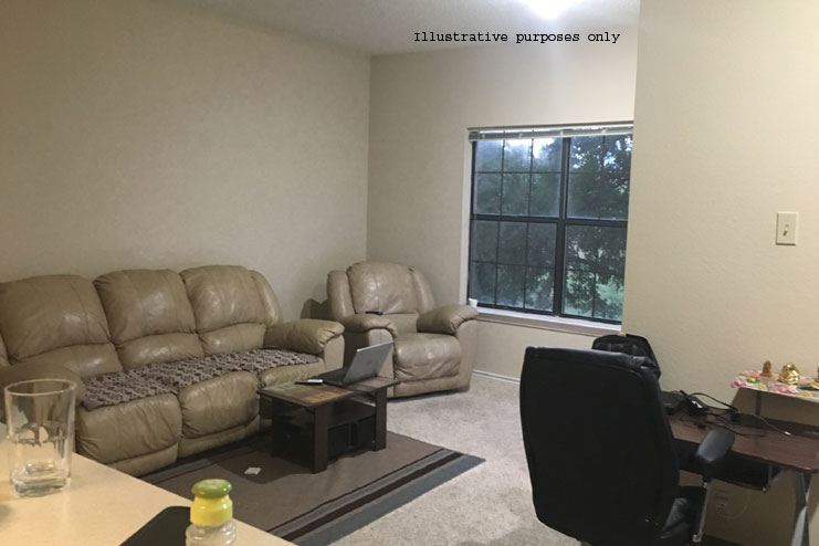 1BHK apartment available in Irving for temporary...